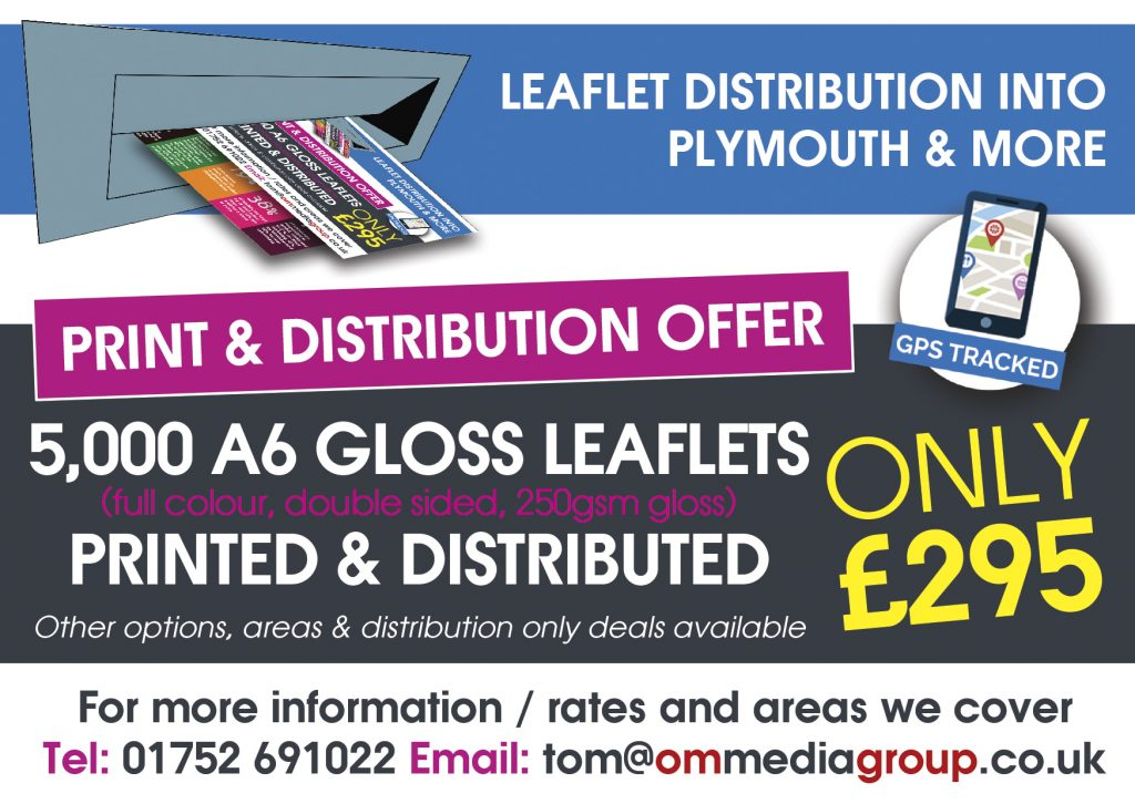 OM Design & Print Advertising - Leaflet Distribution